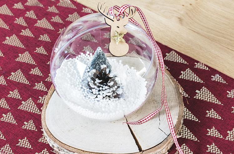 Diy Boule De Noel.Diy De Noël 1 La Boule Transparente à Customiser