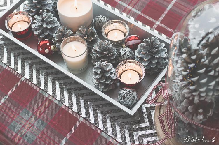 DIY de Noël #3 : deux idées pour habiller sa table de fêtes !