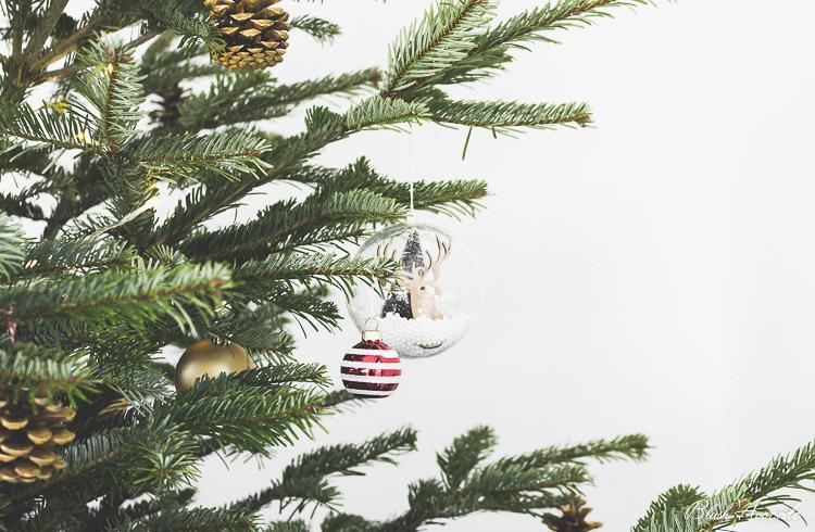 La décoration de mon sapin de Noël !