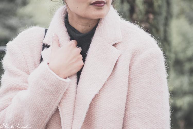OOTD : manteau pastel