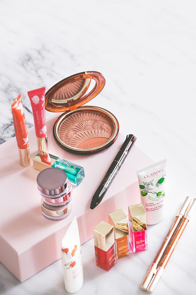 Clarins : focus sur mes coups de coeur makeup, printemps été 2017