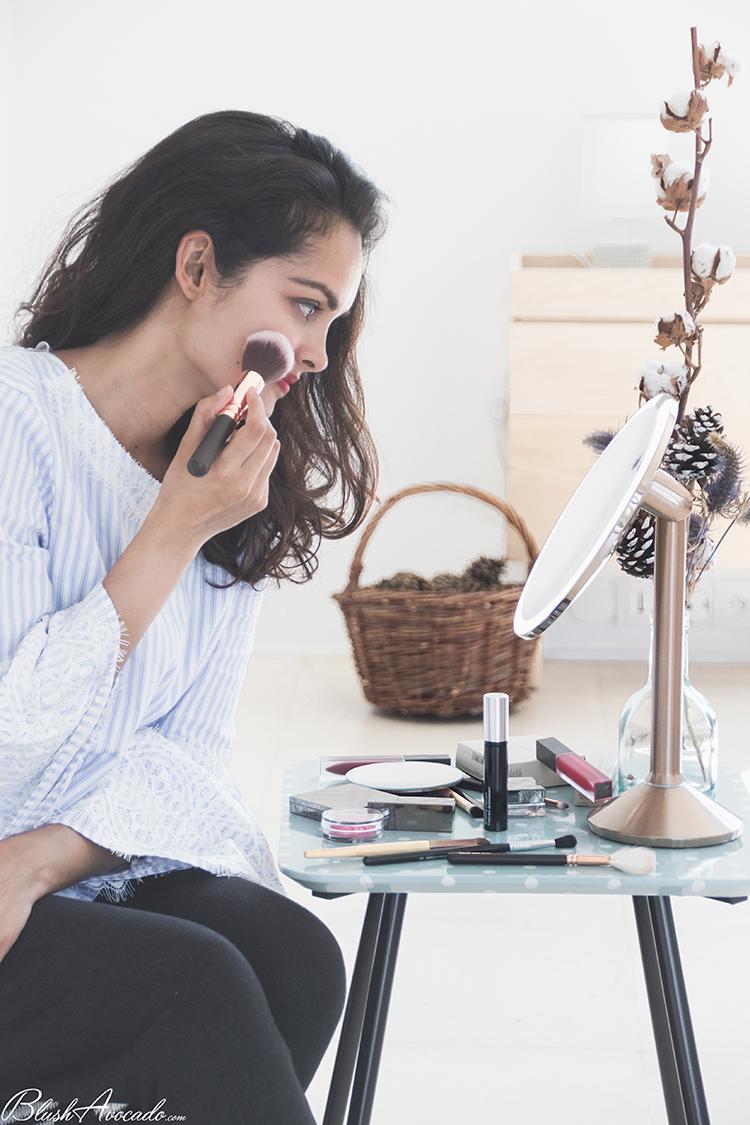 Tutoriel makeup soirée d'été, premières impressions
