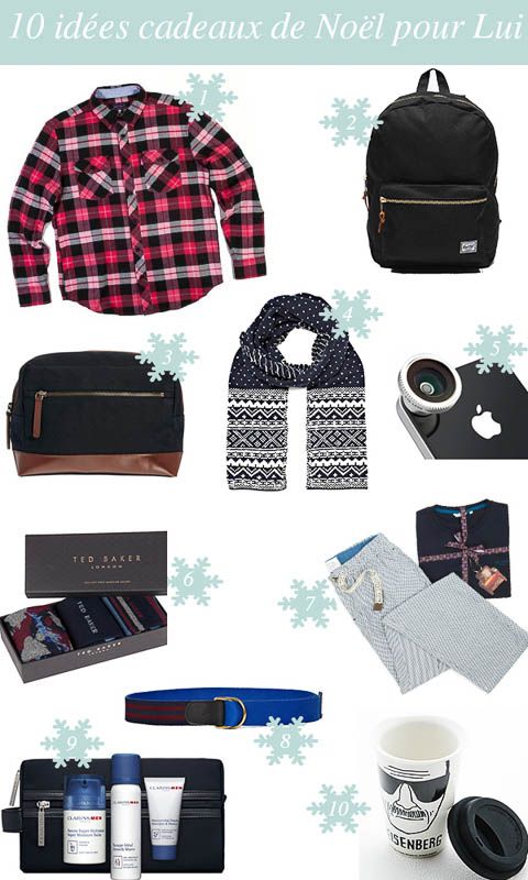 10 idées cadeaux de Noël pour Lui
