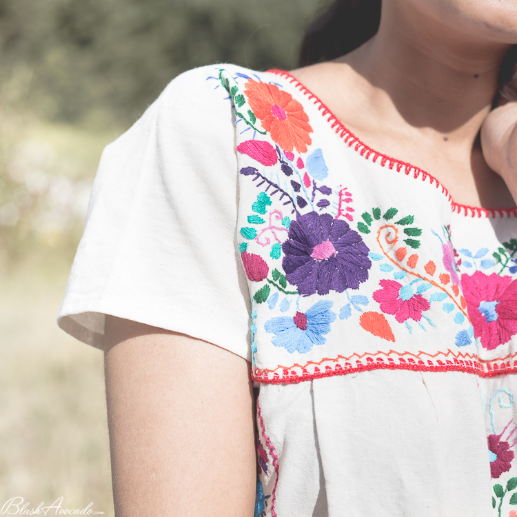 Look : broderies mexicaines