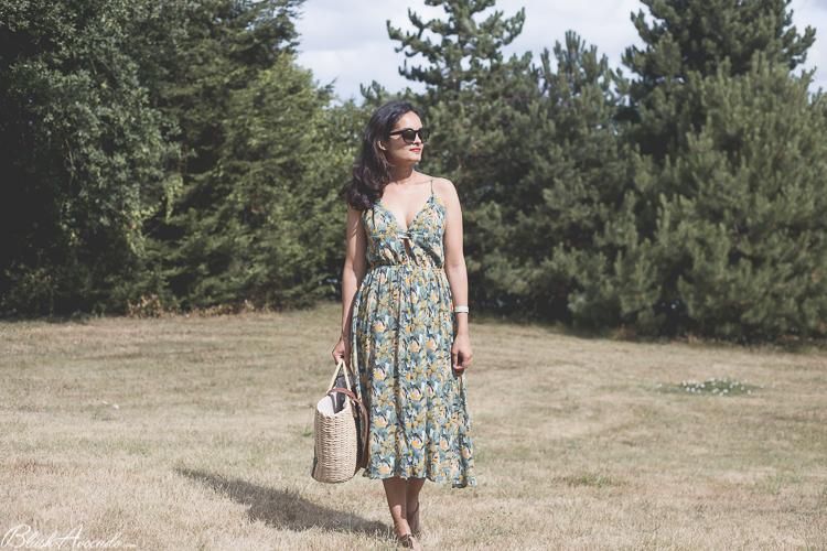 Summer look : la robe tropicale