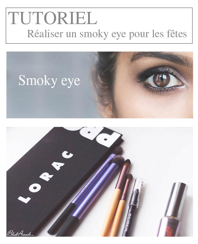 Tutoriel smoky eye pour le nouvel an