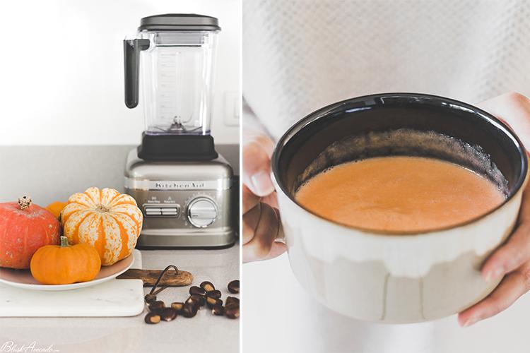 Des soupes en 5 minutes avec le SuperBlender de KitchenAid !