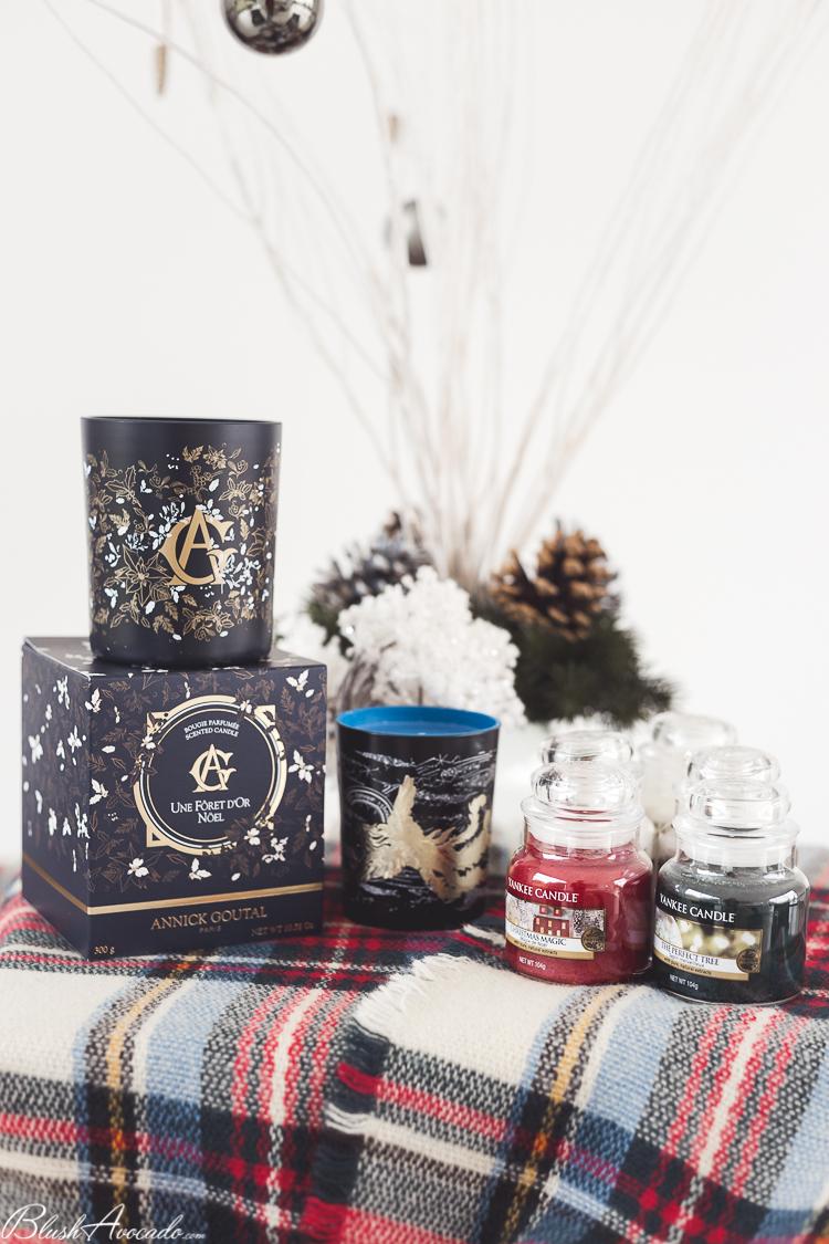 Idées cadeaux : Ma sélection de bougies spécial Noël 2017