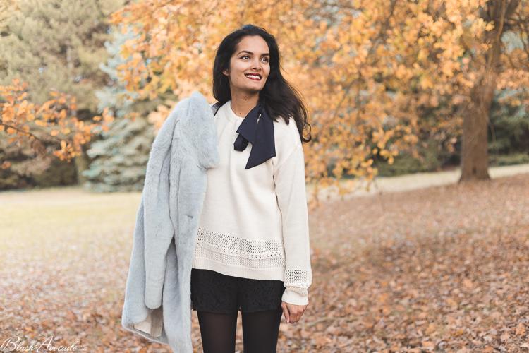 Look : le manteau fausse fourrure, tendance de la saison