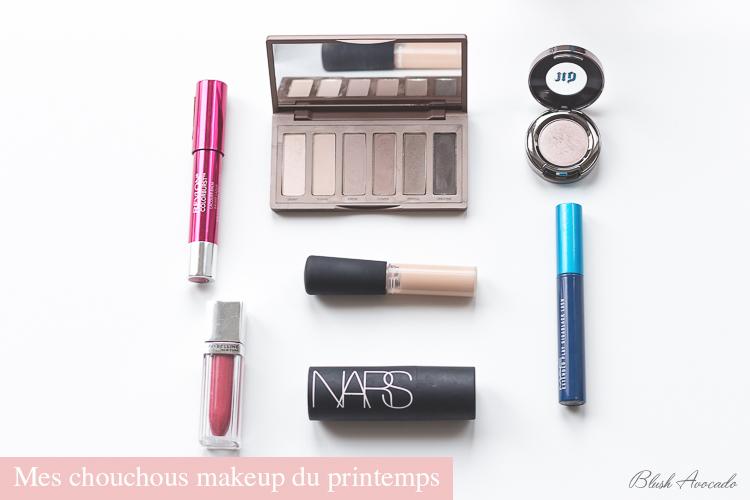 Mes chouchous makeup du printemps