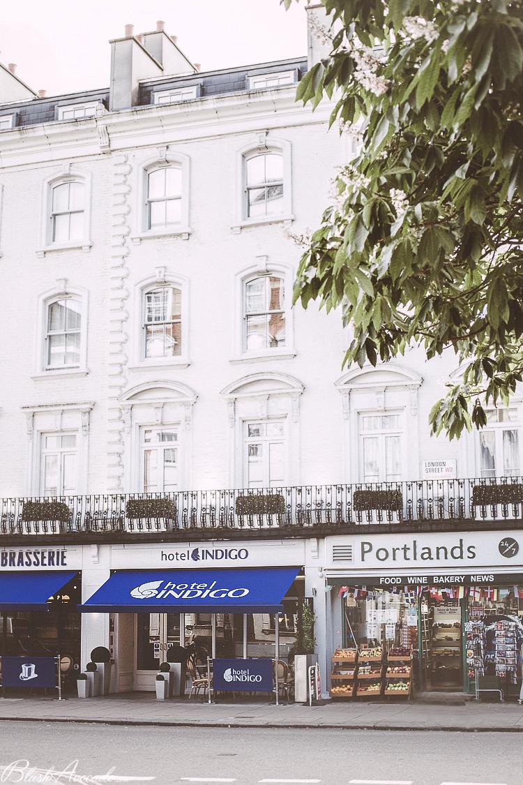 Londres : mon séjour à l'hôtel Indigo, quartier Paddington