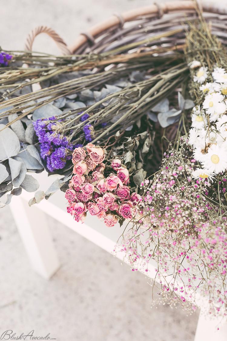 Passion fleurs séchées : DIY guirlande et bouquets avec France Fleurs