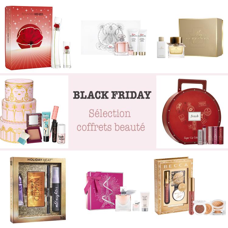Black Friday : sélection spécial coffrets beauté !