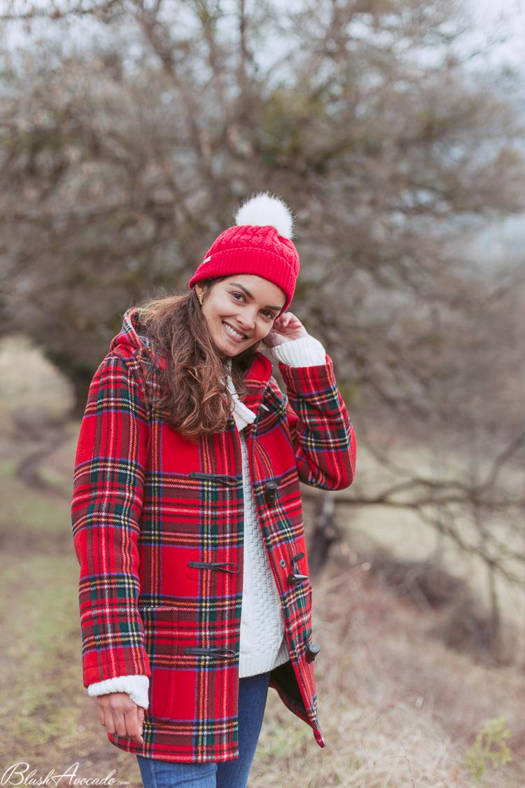 Le duffle-coat tartan, ma pièce coup de coeur de l'hiver