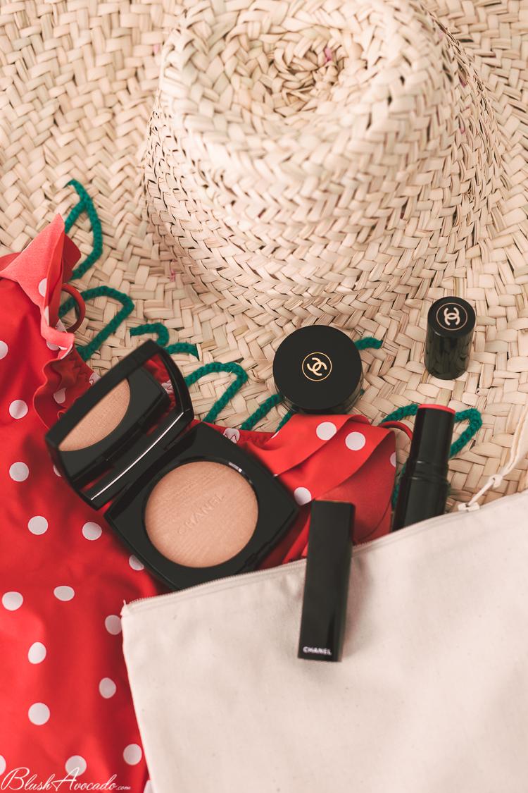 Quand Chanel s'invite dans ma trousse à maquillage spécial Bahamas !