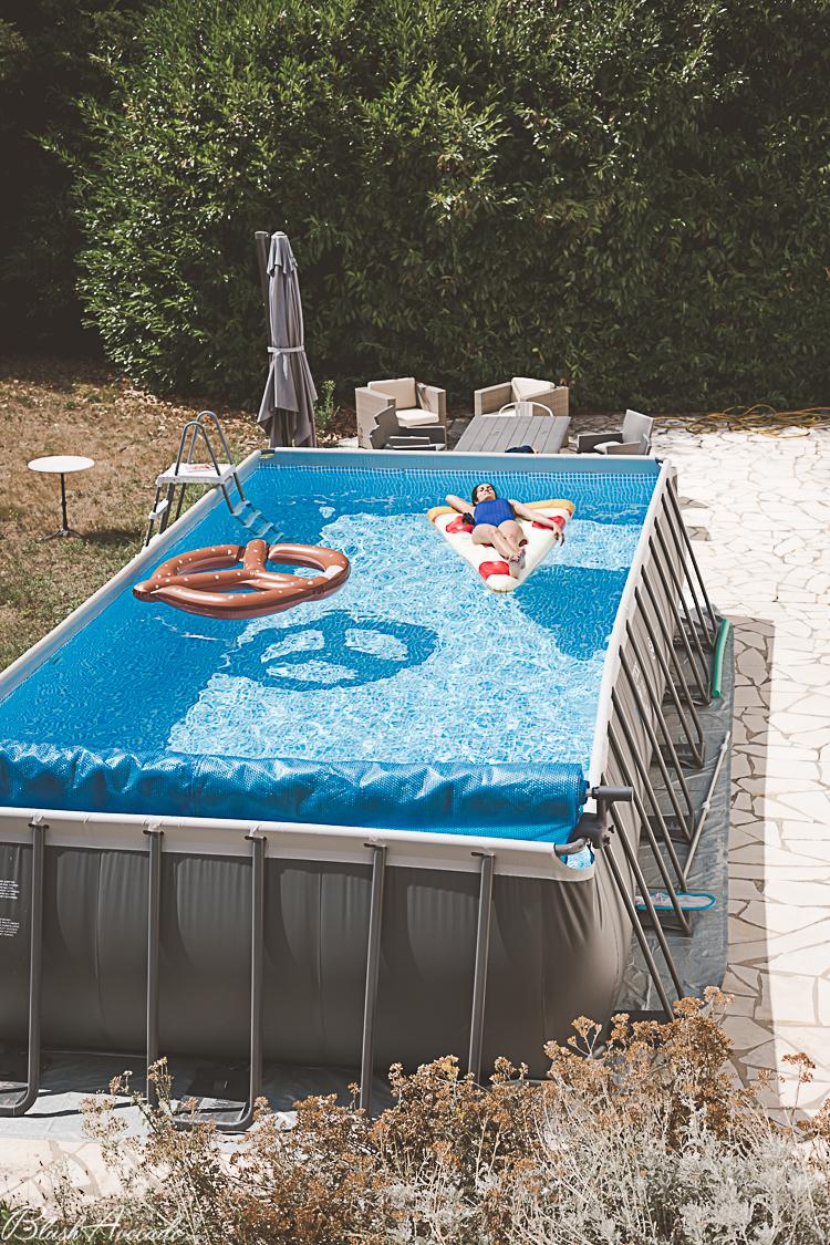 Ma piscine tubulaire Intex, pour un été frais à la maison !