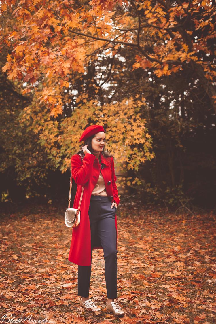 Le manteau rouge