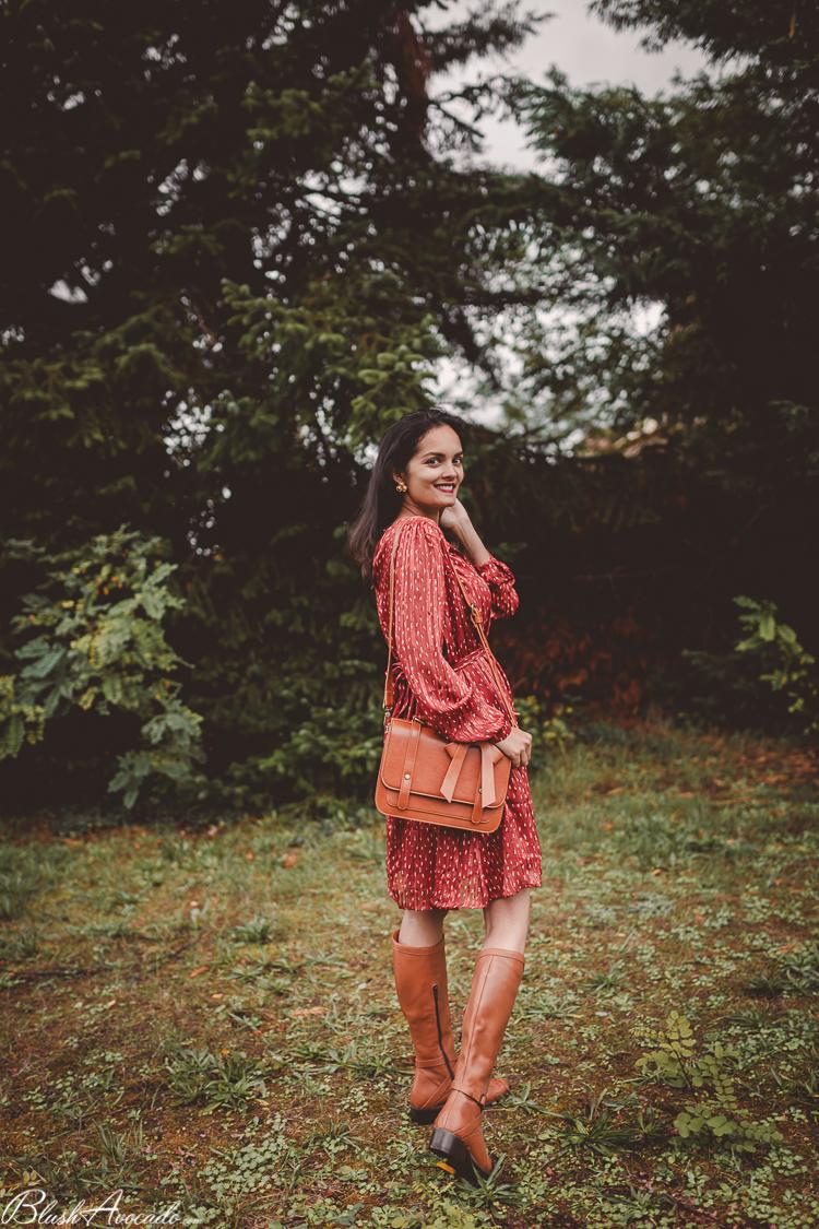 La robe terracotta
